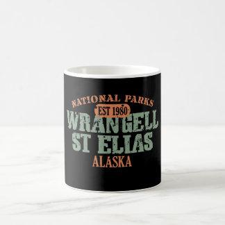 Parque nacional del St Elias de Wrangell Tazas De Café