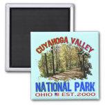 Parque nacional del valle de Cuyahoga, Ohio Imán De Frigorífico