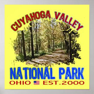 Parque nacional del valle de Cuyahoga, Ohio Póster