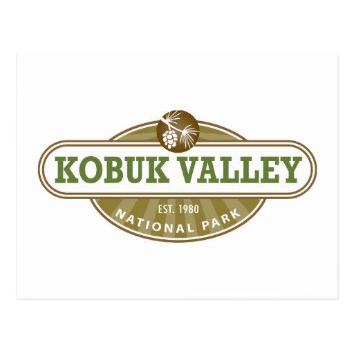 Parque nacional del valle de Kobuk Postal