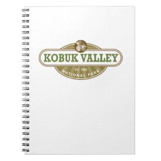 Parque nacional del valle de Kobuk Spiral Notebook