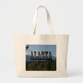 Parque nacional el monte McKinley de Alaska Denali Bolsas Lienzo