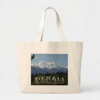 Parque nacional el monte McKinley de Alaska Denali Bolsa De Mano