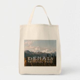 Parque nacional el monte McKinley de Alaska Denali Bolsas De Mano