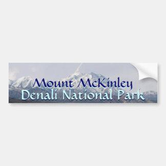 Parque nacional el monte McKinley de Alaska Denali Pegatina Para Auto