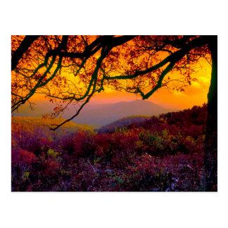 Parque nacional escénico de Shenandoah Postal