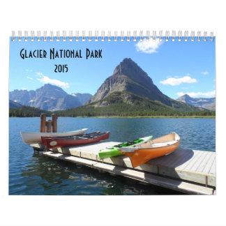 Parque Nacional Glacier 2015 Calendario De Pared
