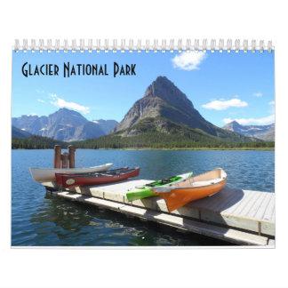 Parque Nacional Glacier 2017 Calendario