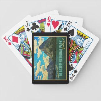 Parque Nacional Glacier Baraja Cartas De Poker