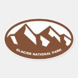 Parque Nacional Glacier Colcomanias De Óval
