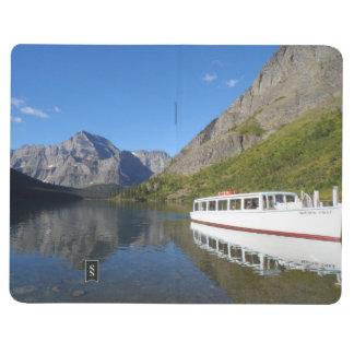 Parque Nacional Glacier de Josephine- del lago Cuaderno