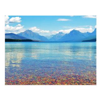 Parque Nacional Glacier de McDonald del lago, Mt Tarjetas Postales