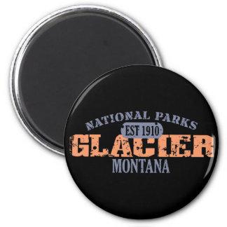 Parque Nacional Glacier Imán Redondo 5 Cm