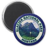 Parque Nacional Glacier Imanes De Nevera