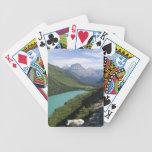Parque Nacional Glacier, Montana Baraja Cartas De Poker