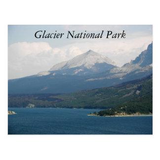 Parque Nacional Glacier Tarjeta Postal