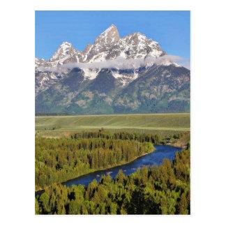 Parque nacional magnífico 3 de Teton Postales