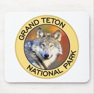 Parque nacional magnífico de Teton Alfombrilla De Ratones
