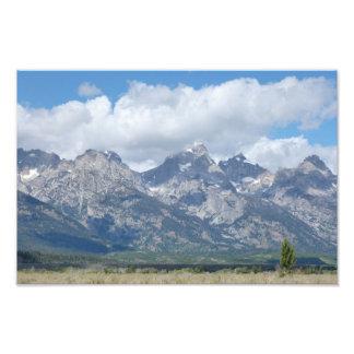 Parque nacional magnífico de Teton Arte Con Fotos