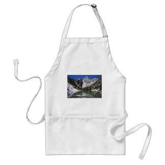 Parque nacional magnífico de Teton del lago delta Delantal