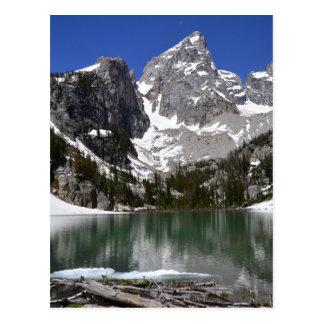 Parque nacional magnífico de Teton del lago delta Tarjetas Postales