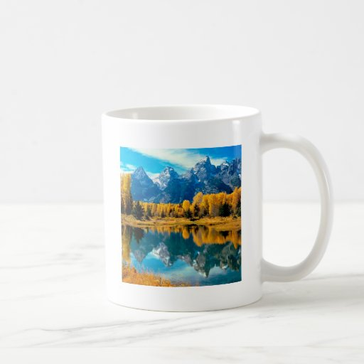 Parque nacional magnífico de Teton del otoño del a Taza