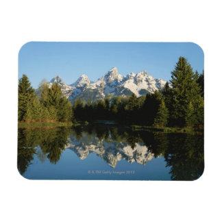 Parque nacional magnífico de Teton, gama de Teton, Imanes Rectangulares