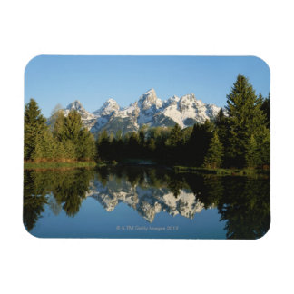Parque nacional magnífico de Teton, gama de Teton, Imanes