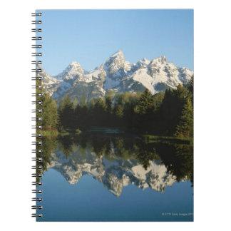 Parque nacional magnífico de Teton, gama de Teton, Libros De Apuntes Con Espiral