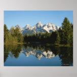 Parque nacional magnífico de Teton, gama de Teton, Posters
