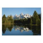Parque nacional magnífico de Teton, gama de Teton, Tarjetón