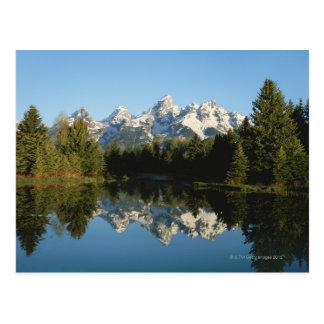 Parque nacional magnífico de Teton, gama de Teton, Tarjeta Postal