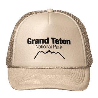 Parque nacional magnífico de Teton Gorro De Camionero