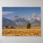 Parque nacional magnífico de Teton Impresiones