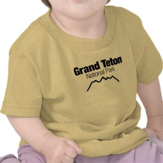 Parque nacional magnífico de Teton Camisetas