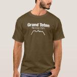 Parque nacional magnífico de Teton Playera