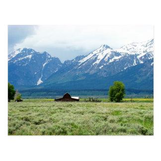 Parque nacional magnífico de Teton Postales