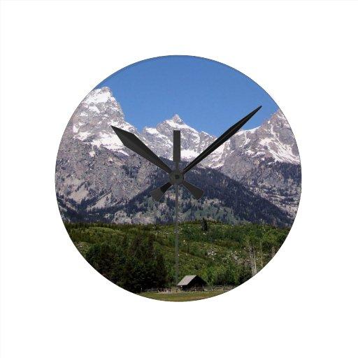 Parque nacional magnífico de Teton Relojes