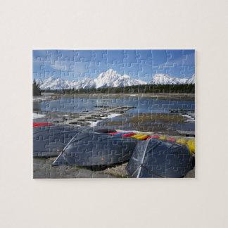 Parque nacional magnífico de Teton - rompecabezas