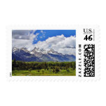 Parque nacional magnífico de Teton Sello