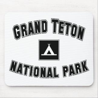 Parque nacional magnífico de Teton Tapete De Raton