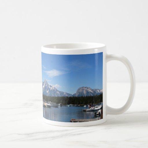 Parque nacional magnífico de Teton Taza Básica Blanca