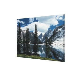 Parque nacional magnífico de Teton, Wyoming Lona Estirada Galerías