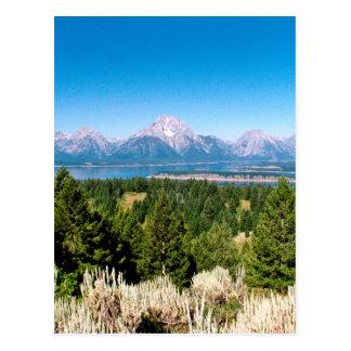 Parque nacional magnífico Wyoming de Teton Postales