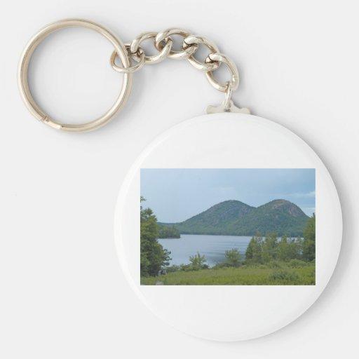 Parque nacional Maine del Acadia Llaveros Personalizados