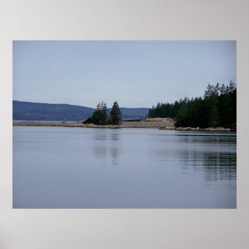 Parque nacional Maine del Acadia Póster