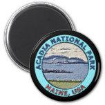 Parque nacional Maine, los E.E.U.U. del Acadia Imán De Nevera