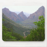 Parque nacional Mousepad de la curva grande Alfombrillas De Ratones