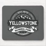 Parque nacional Mousepad de Yellowstone Tapetes De Ratones