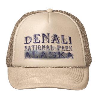 Parque nacional Mt McKinley de Alaska Denali Gorro De Camionero